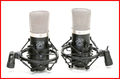 Two matched Roswell Mini K47 Microphones