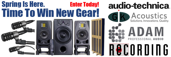 Attention: Recording Musicians�Time To Win New Gear!
