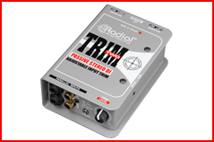 Radial Engineering�s Trim-Two Stereo DI with Level Control