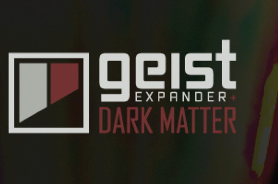 Dark Matter is a Geist Expander with drum sounds designed...