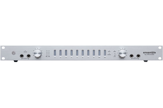 The Apogee Ensemble Firewire interface.