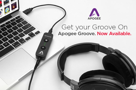 Apogee Electronics is now shipping Groove, its high-quali...