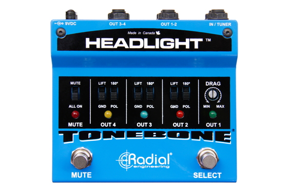 Radial Engineering Ltd. is pleased to announce the Tonebo...