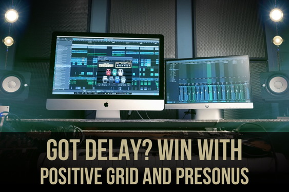 Guitar solos need delay! Join Positive Grid and PreSonus ...