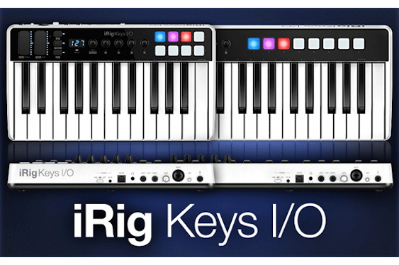 IK Multimedia is proud to announce that iRig Keys I/O, th...