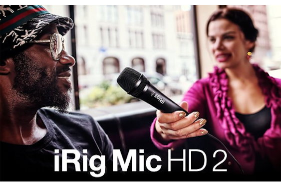 IK Multimedia is proud to announce that iRig Mic HD 2 is ...