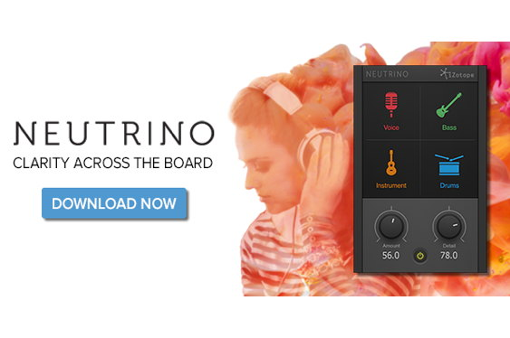 Say hello to Neutrino, iZotope's free spectral shaping pl...