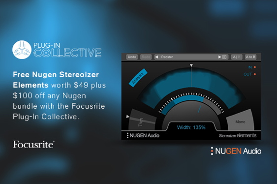 This month's Plug-in Collective offer from Focusrite is a...