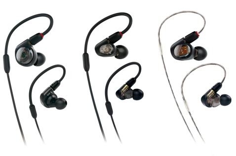 The new E-Series from Audio-Technica comes in Great, Wow, and Oh My Gosh.