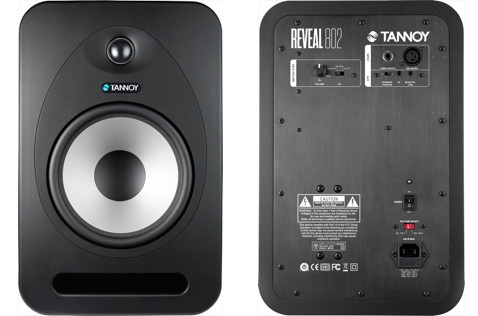 The Tannoy Reveal 802, front and back