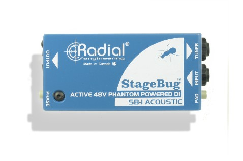 The StageBug SB-1 Active DI