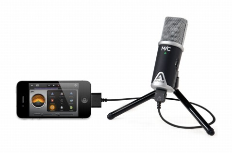 The MiC 96k works well with any Mac or iOS device -- even an iPhone!