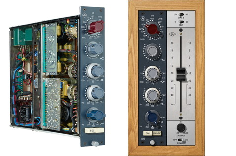 The classic Neve 1073 comes to life in the UAD-2 version, which adds some cool extras.