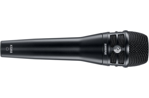 The KSM8 in black, showing a familiar, elegant design.