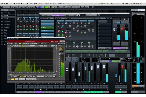 Cubase 7 sports a sexy new look and lots of improved features.