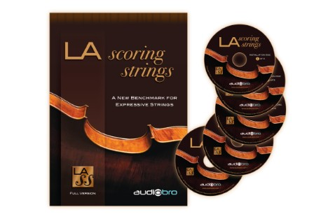 LA Scoring Strings comes on five DVDs.