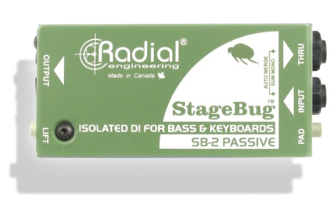 The StageBug SB-2 Passive DI