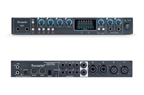 The front and rear panels of the Saffire PRO 26 offer plenty of I/O options.