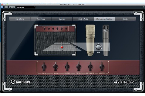 VST Amp Rack presents a lot of sonic possibilities.