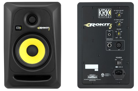 KRK ROKIT Powered RP5 G3 Monitors