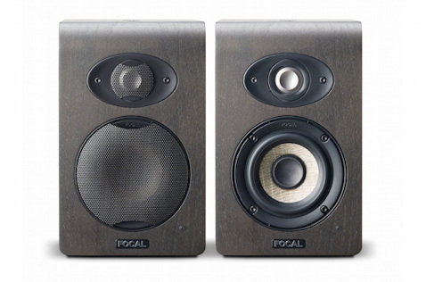 The Tannoy Reveal 402, front and back