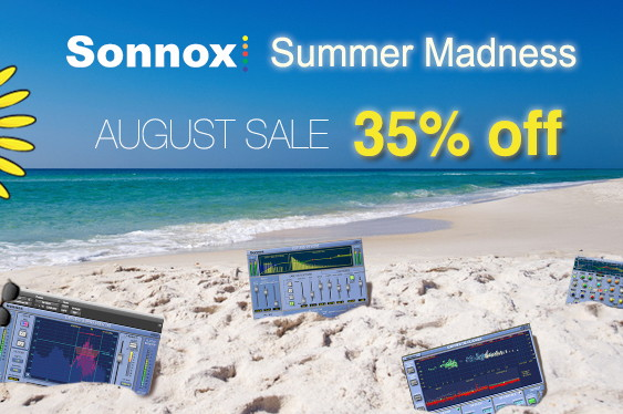 Throughout the month of August, Sonnox is offering a 35% ...