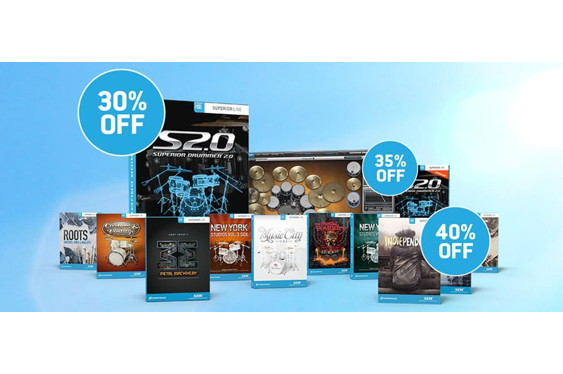 Today, Toontrack announced great savings on several of th...