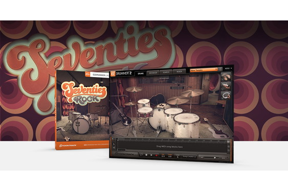 Toontrack's latest EZX expansion for EZdrummer is the Sev...