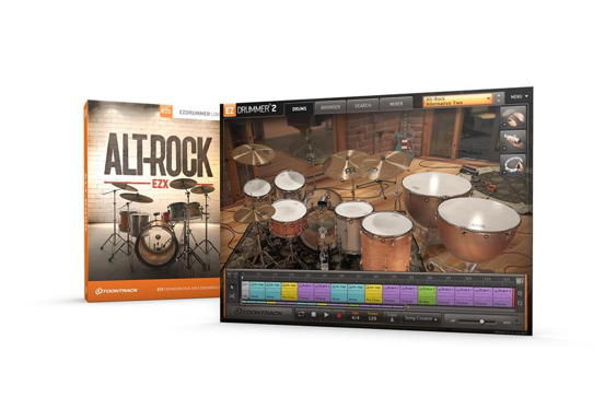 Toontrack has announced the release of the Alt-Rock EZX, ...