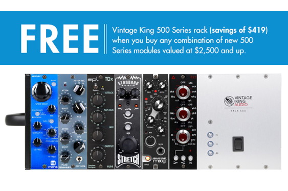 The new Vintage King Rack 500 is a high-quality USA-made ...