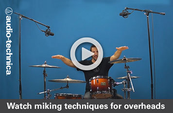 A-T Video – Miking Overhead Drums