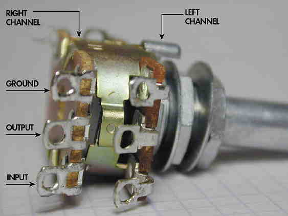 DIYFig4flatsmall 100k dual ganged stereo volume control wiring diagram circuit Potentiometer Motor Wiring Diagram at honlapkeszites.co