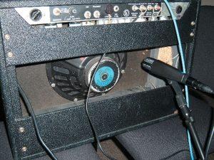 sm57 behind speaker
