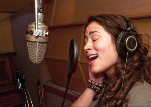 vocal recording image