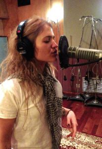 recording vocals image